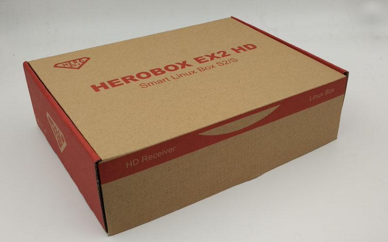 3pcs DHL HEROBOX EX2 HD-S2 BCM7362 751MHZ Dual-core HEROBOX EX2 HD DVB-S2 Tuner Tuner DVB-S2/S Linux HD Satellite Receivers(Hong Kong)