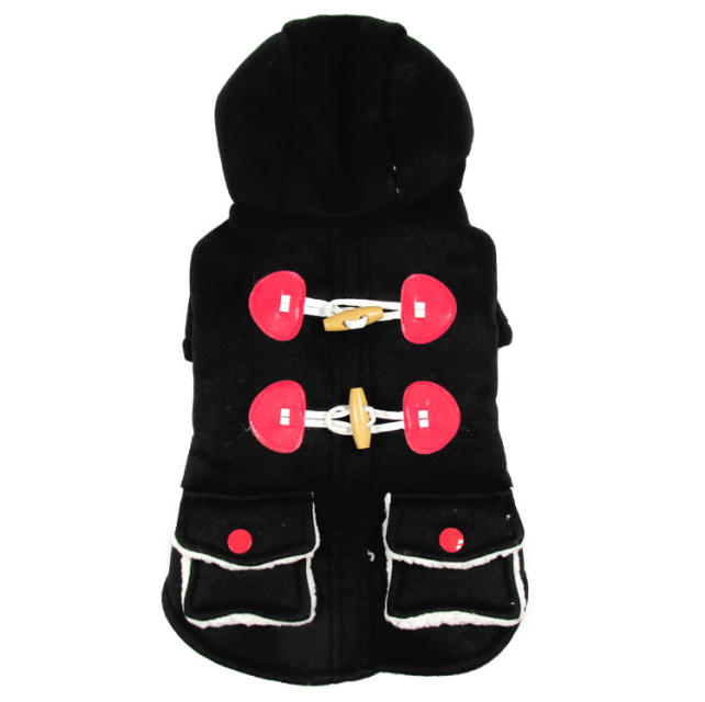 Dog clothes, dog clothes and ultra thick sweater cashmere students lamb dog thick warm autumn and winter(China (Mainland))