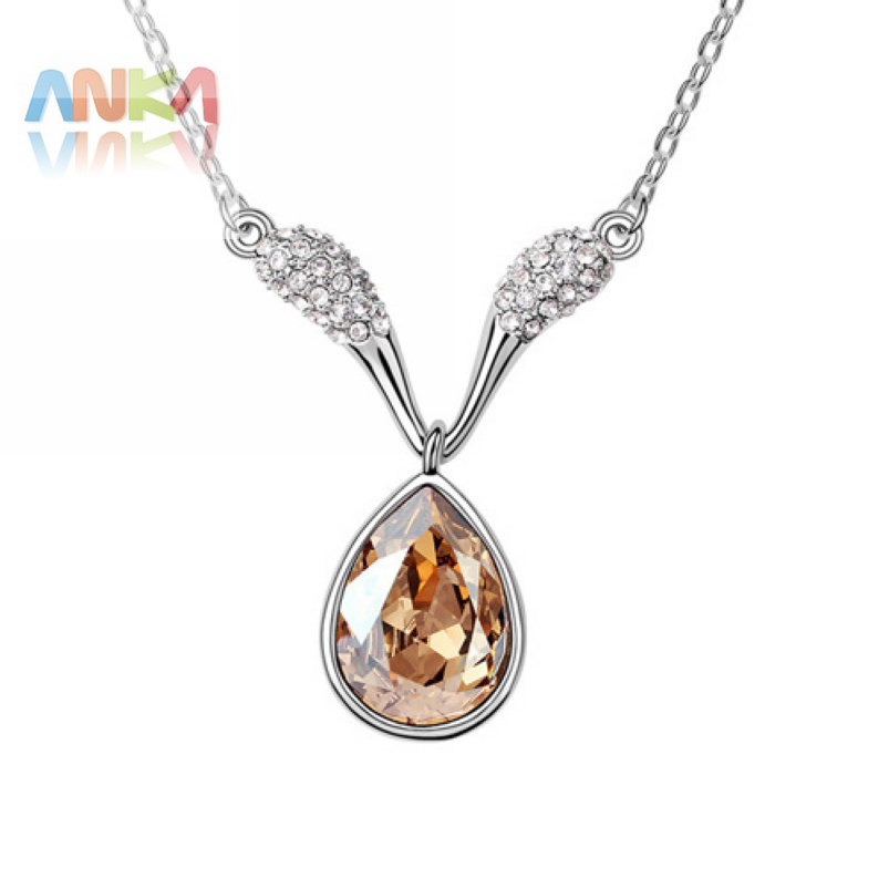 Free shipping wholesale drop austria crystal pendant for Drop shipping jewelry business