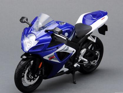 For Maisto GSX-R750 original simulation model of 1:12 alloy motorcycle motorcycle toy locomotive Free shipping(China (Mainland))