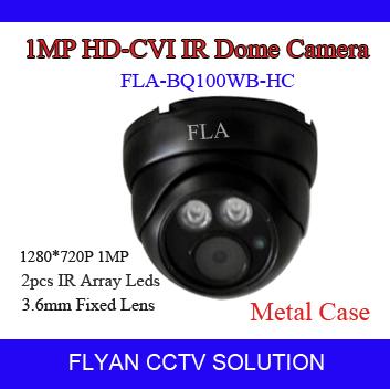 "Фотография HD CVI Camera 1.0MP 720P 1/3"" CMOS Dahua DH9801 DSP 2PCS IR Array Leds Real-time Transmission 3.6MM Lens CCTV HD-CVI Dome Camera"