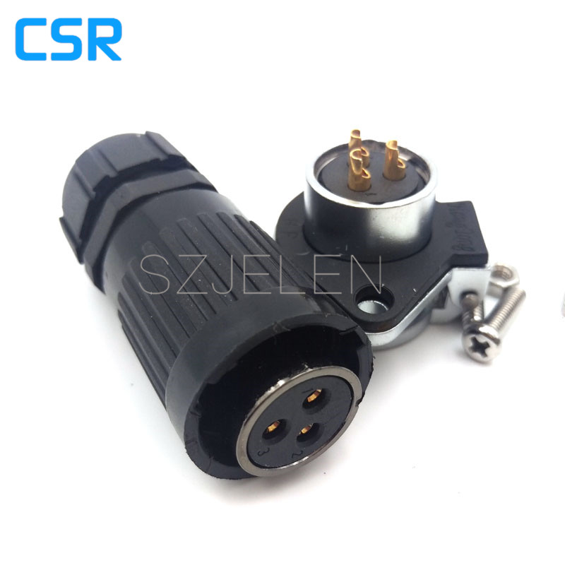 WP20,3 pin waterproof and dustproof connector, 3-pin plug/female, and 3-pin socket connector, LED cable Board to Wire Connectors(China (Mainland))