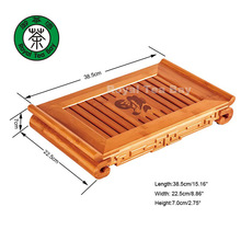 Blessing/Fu Bamboo Gongfu Tea Table TP063 Can be used for 3-4 people(China (Mainland))