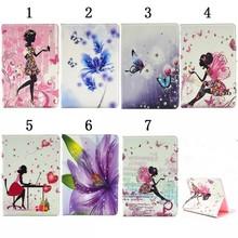 Fashion Butterfly Floral Leather Case for iPad mini1 2 3 7.9″ Diamond Girl Stand Tablet Smart Cover for iPad mini1 mini2 mini3