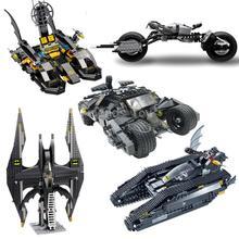 Batman Set Tumbler BatTank Batmobile Batwing Batboat Bat-Pod DC Building Blocks Bricks Set Minifigures Toy Compatible With LEGO(China (Mainland))