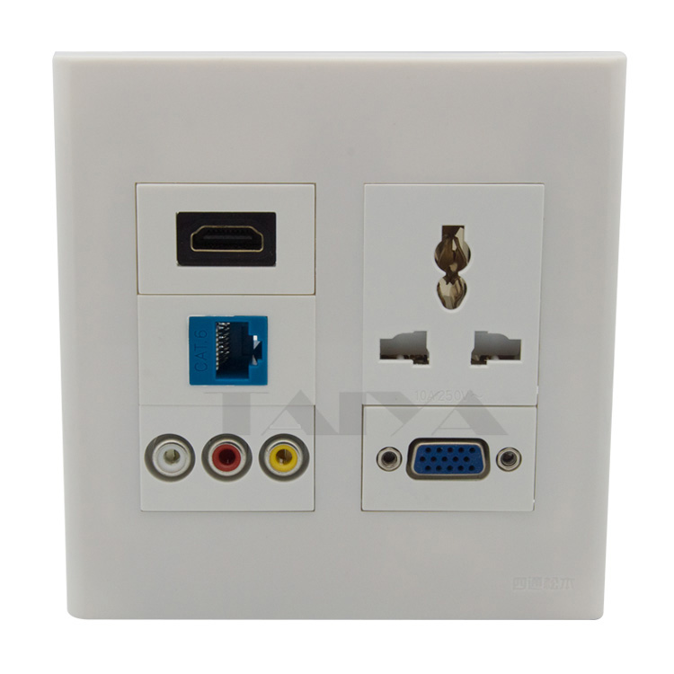 rj45 face plate promotion shop for promotional rj45 face plate on. Black Bedroom Furniture Sets. Home Design Ideas