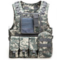 6 Colors Mens Tactical Vest Military 600D Oxford Swat Vest Field Battle Airsoft Molle Combat Assault