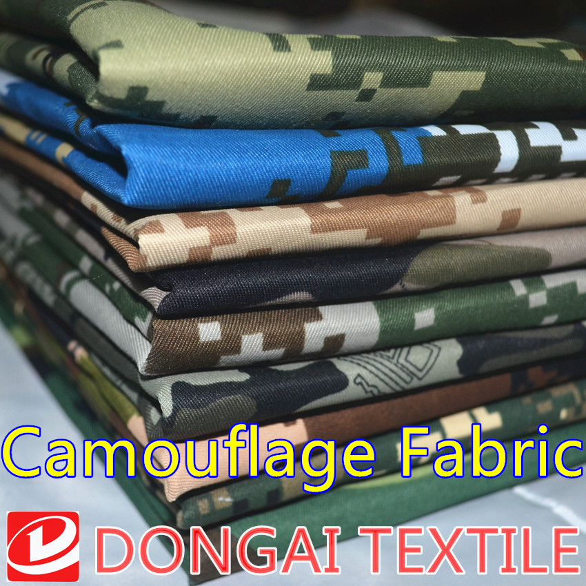twill military camouflage fabric for coat/print fabric(China (Mainland))