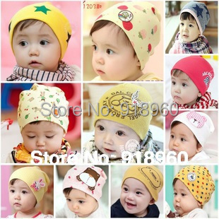 35 colors kids hat lovely animal pattern beanie,baby boy hats and baby girl hat photograph props for 0~3 years old kids