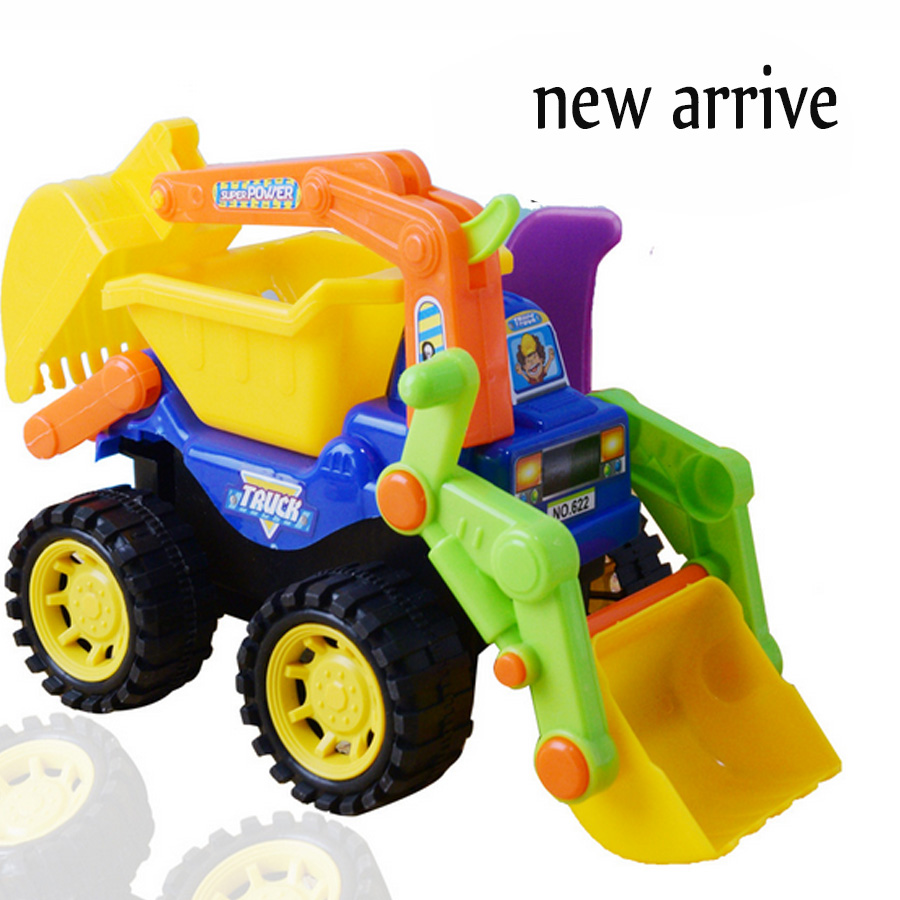 Classic Toys For Boys : Alloy toy engineering car models dump truck