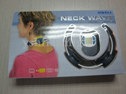 Hot sale!Lowest price!freeshipping 5sets Portable Neck Therapy Massager body massager with retail packing box