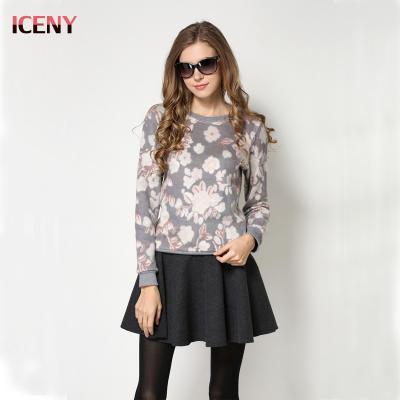 ICENNY 2016 Uzun Kış Ceket Kadınlar Ince Katı Kapüşonlu Kürk yaka Fermuarlar Cep Bayanlar Uzun Ceket Aşağı Sıcak Ceket Artı boyutu