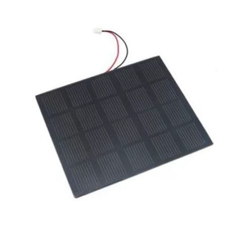 2W/5V Solar Panel 400MA 131*110MM Monocrystalline PET Cell Panel For Charger(China (Mainland))