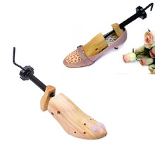 37-39 EU Size M High Quality 1x 2-Way Professional Wood Wooden Shoe Tree Stretcher for Women Boots(China (Mainland))