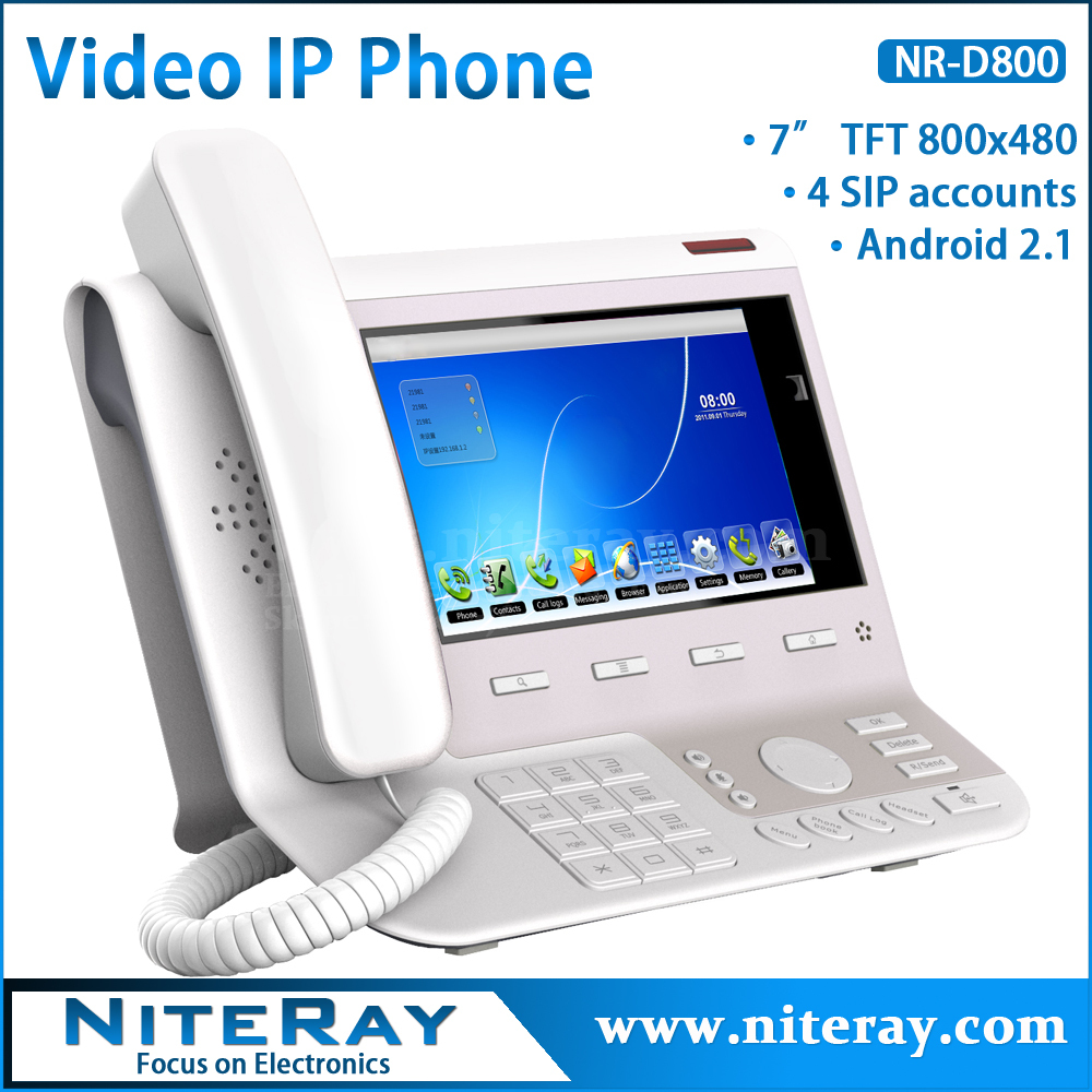 Camera Sip Phone For Android destek yorumlar online free shippingandroid 2 1 os4 sip linesip video phone telephone with 7tft 800x480 display