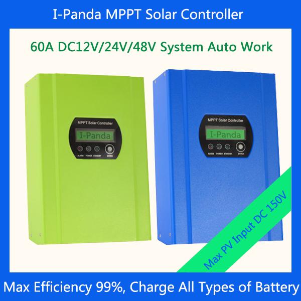 CE RoHS MPPT Solar Charge Controller,60A 12V/24V/48V Automatic Recognition Solar Charge  Controller<br><br>Aliexpress