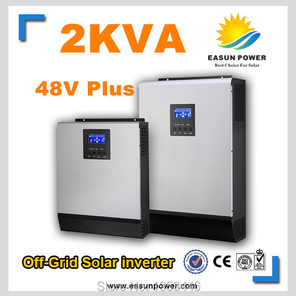 2kVA 48VDC Plus Solar Hybrid Inverter with Built in 60A MPPT Solar Controller(China (Mainland))