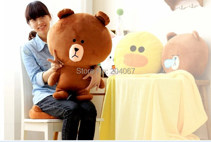 New line Brown Bear PLUSH TOY best price animal toy 55cm size TOY free shipping mty025-1(China (Mainland))