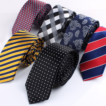 2015 High quality fashion tie married 6cm male casual tie for men necktie box set
