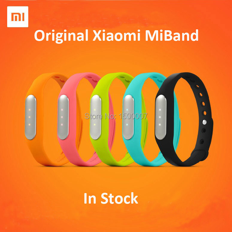 Original Xiaomi Mi Band MiBand Smart Wristband Bracelet Fitness Wearable Tracker Waterproof IP67 Smartband for Android 4.4(China (Mainland))