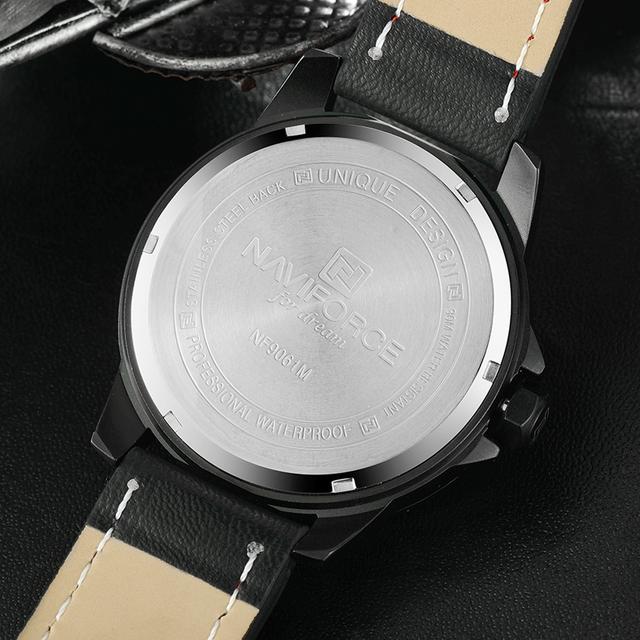 Zegarek męski NAVIFORCE luksusowy sportowy styl dla wymagających różne kolory