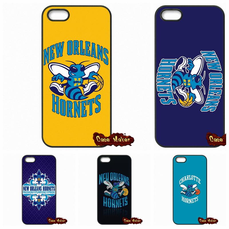 New Orleans Hornets NOK Logo Case Cover For Huawei Honor 3C 4C 5C 6 Mate 8 7 Ascend P6 P7 P8 P9 Lite Plus 4X 5X G8(China (Mainland))