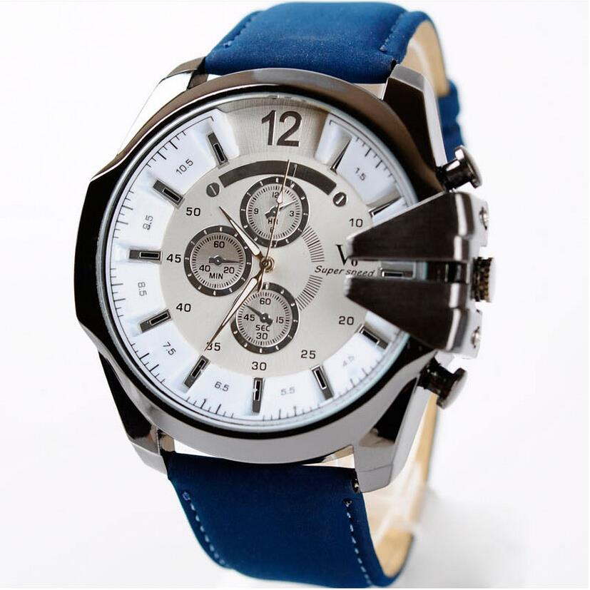 Top Quality Quartz Military Watch Men Relogio Masculi 2015 Fashion V6 Watches Men Luxury Brand Analog