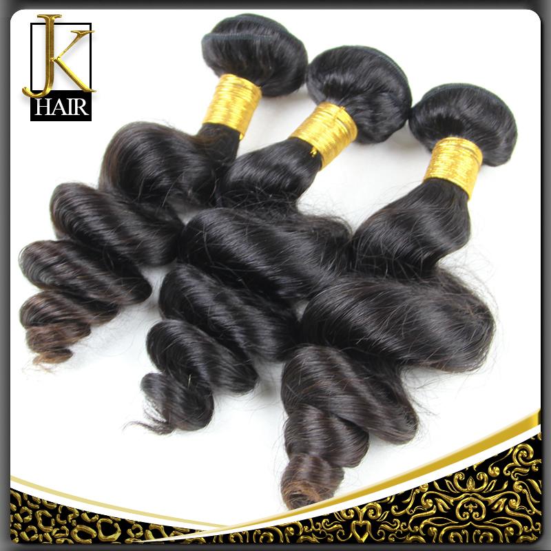 Mongolian Virgin Hair Loose Wave 4 Bundles Mongolian Loose Wave 6A Human Hair 100g Bundles Virgin Mongolian Hair Loose Wave(China (Mainland))