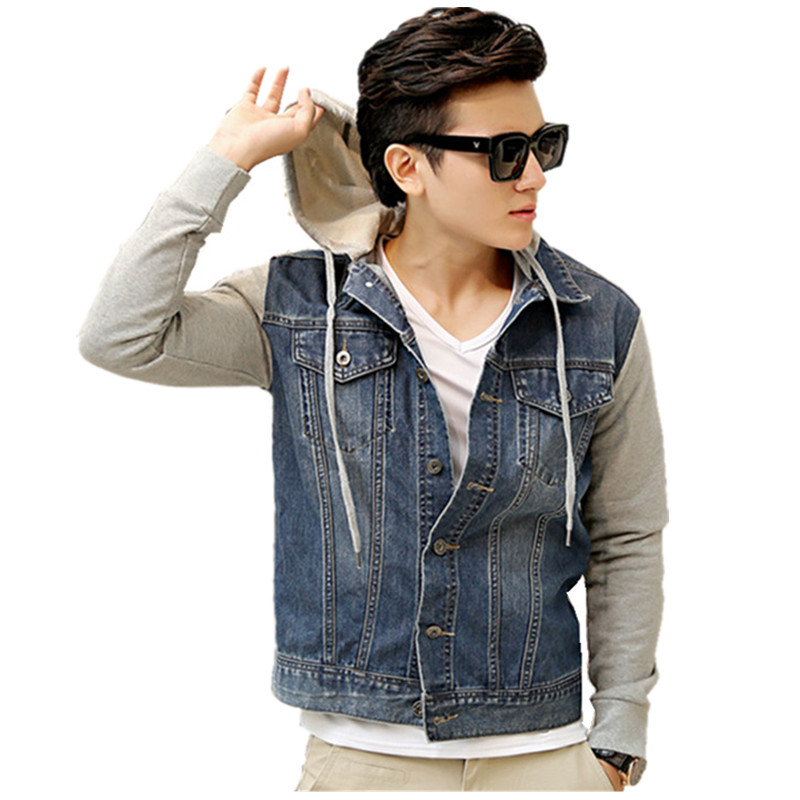 Collection Jean Jacket Hoodie Men Pictures - The Fashions Of Paradise