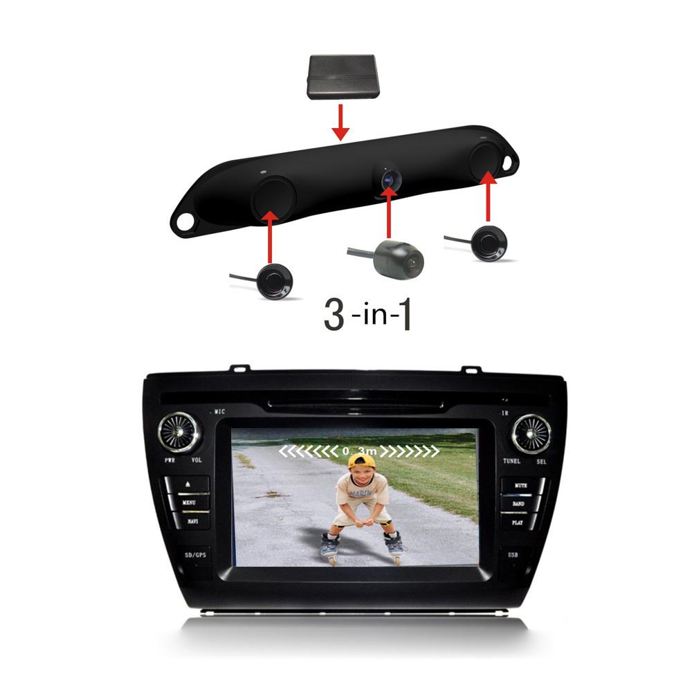 3 in 1 camera control box 2 parking sensor car reverse for 1 1 2 box auto