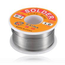 Buy 63/37 1mm Tin Lead Line Rosin Core Flux Solder Welding Iron Wire Reel 100g High Flux Soldering Wire Reel 2017 Top Sale for $3.31 in AliExpress store
