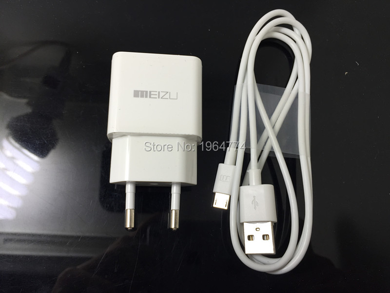 Original MEIZU EU 5V 2.1A Fast speed USB wall charger adapter + 1M Micro USB Cable for MX4 MX5 PRO LG HTC SAMSUNG HUAWEI XIAOMI(China (Mainland))