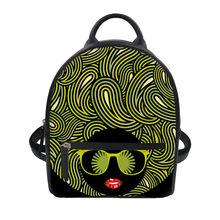 WHOSEPET PU женский кожаный рюкзак Забавный Экспрессия печати рюкзак для женщин подростков девочек мини школьные сумки Bolsa 2018(China)