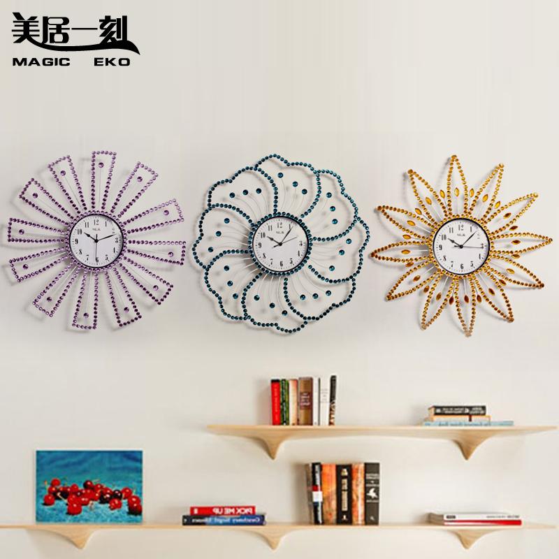 Meiju wall clock big decoration mute 50cm fashion watch