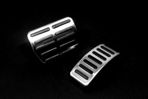 Auto Exterior Accessories Car Styling Audi TT Automatic Pedal Rubber for Polo 9N3(China (Mainland))