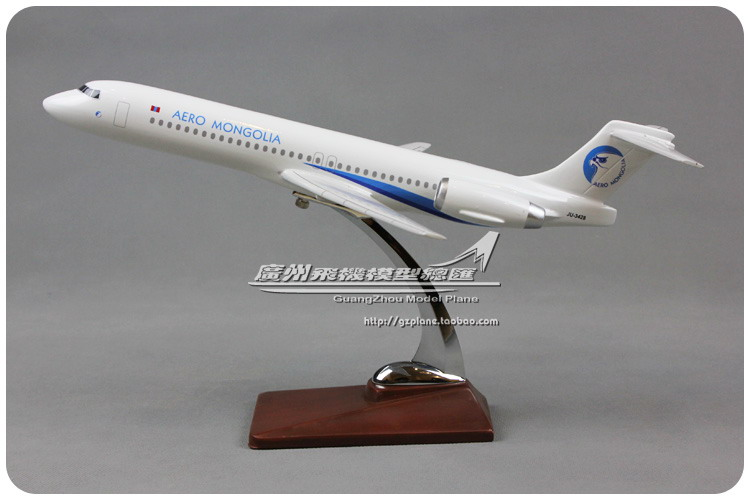 37cm 1:96 Air Aero Mongolia Fokker F100 Airlines Airways Resin Airplane Model Plane Model Collections(China (Mainland))