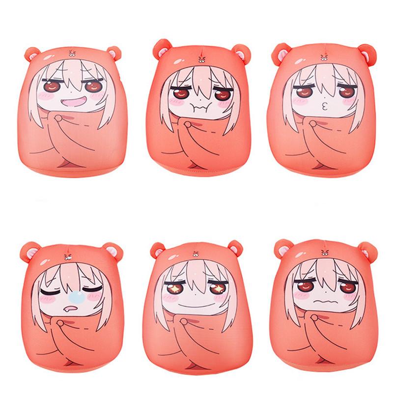 2016 New Sankaku Head Himouto Umaru Chan Umaru Doma Cosplay MARMOT Short Velvet Puppets And Humanoid Doll For Best Gifts(China (Mainland))