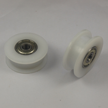 3D printer accessories 10 pcs *dual bearing smooth TIMING BELT adjustable idler wheel delrin POM H wheel 5 mm bore REPRAP DIY