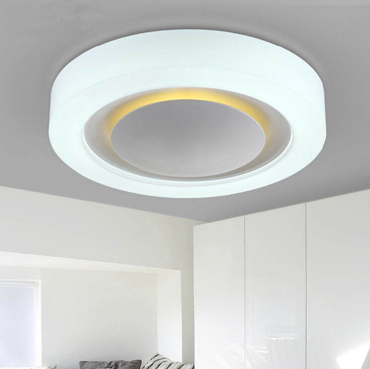 Hot Modern Ceiling Led Lights With Night Light For Bedroom
