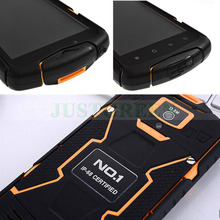5 1280 720 NO 1 X1 Android 4 4 Waterproof Mobile Phone MTK6582 Quad Core 1