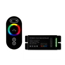 Buy 5Keys 7 Colors DC12V-24V RF Touch Remote Controller for RGB 5050 3528 LED Strip RF Remote Controller for $15.46 in AliExpress store