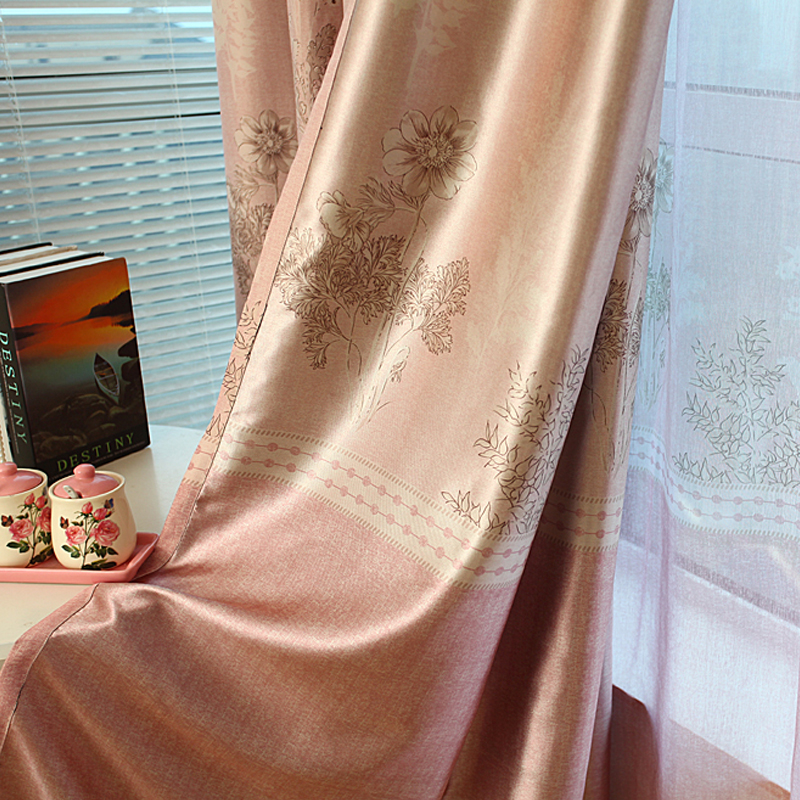 free shipping black out curtains livingroom curtain quality finished product(China (Mainland))