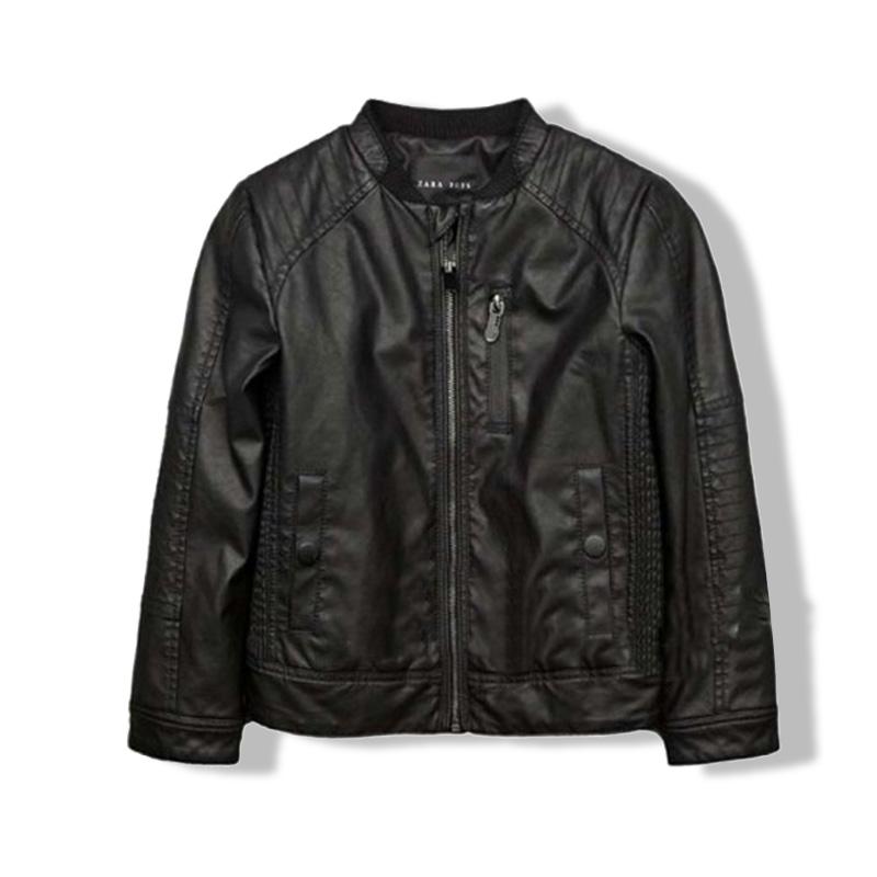 Boys Black Denim Jacket