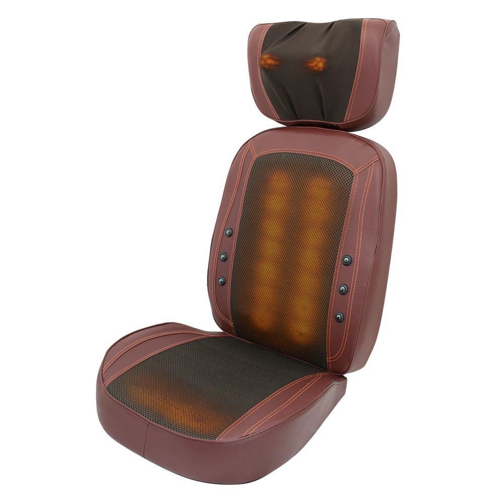 2014 hot selling car massage cushion electric shiatsu back and neck(China (Mainland))