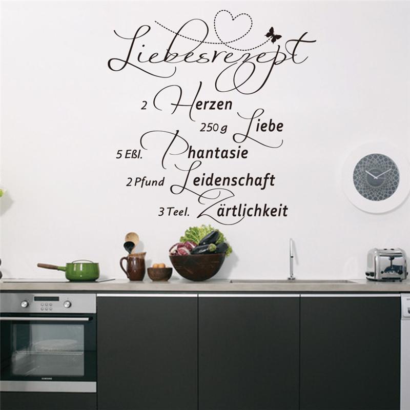 Muurstickers Keuken Decoratie : Kitchen Quotes Wall Decals