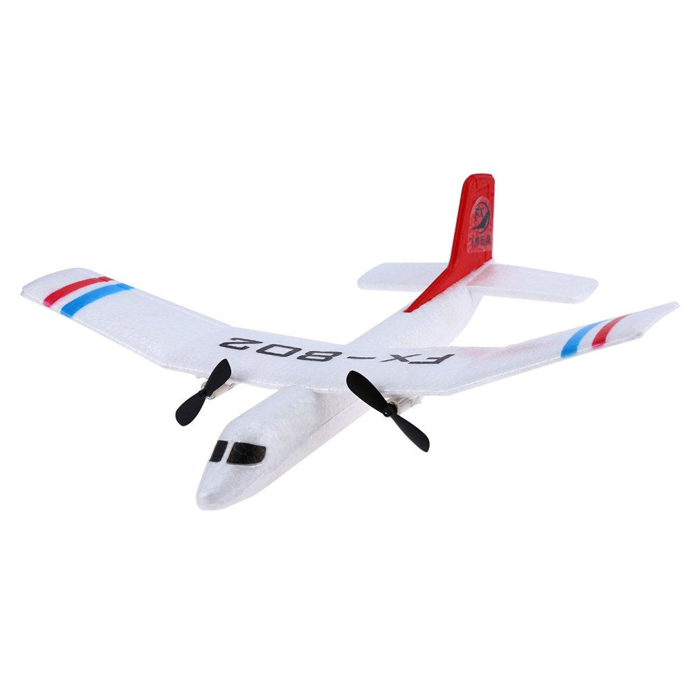 RC Plane Flybear FX - 802 2.4G 2CH EPP Professional Glider Front-pull Double Propeller RTF Version Anti-crash Ready-to-fly(China (Mainland))