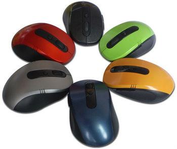 Free Shipping Portable 2.4G Wireless Optical USB Mouse RF 2.4GHz for PC Laptops & Desktops Computer MAC Notebook XP WIN7 Vista