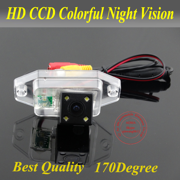 For Toyota Prado/Land Cruiser Car rear view Camera back up reverse for GPS DVBT radio waterproof fully NTSC form(China (Mainland))
