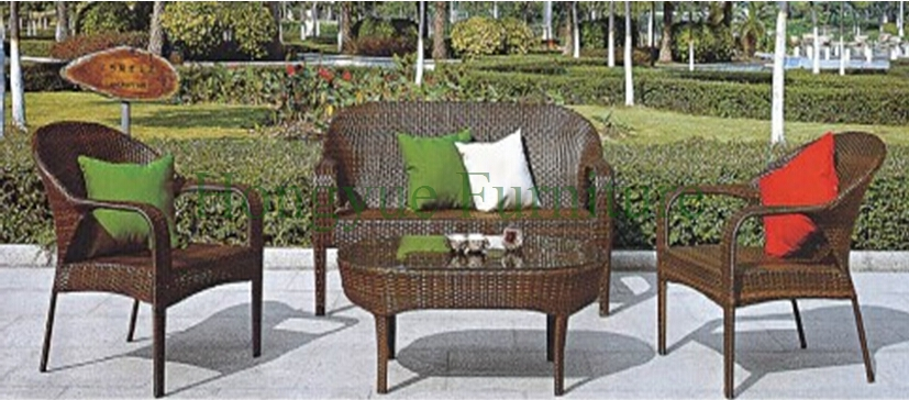 cane furniture pe rattan garden sofa set furniture. Black Bedroom Furniture Sets. Home Design Ideas