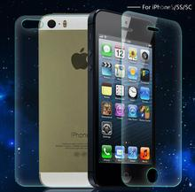 Front + Back Hard Screen Protectors for iPhone 4 4S 5 5C 5S SE 6 6S plus Transparent Clear Crystal Full Body Protective Films